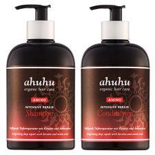 ahuhu organic hair care  Intensive Repair Shampoo & Conditioner je 500ml