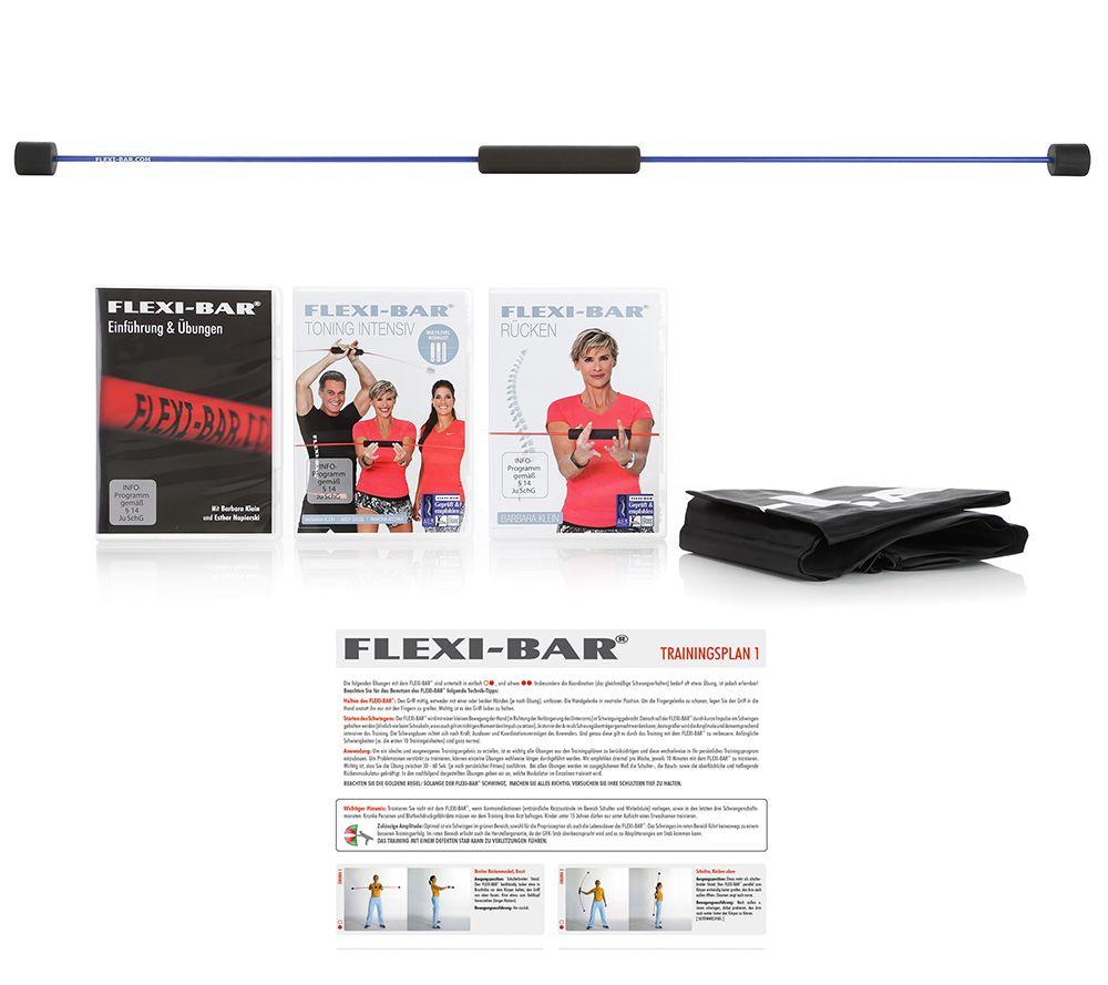 FLEXI-SPORTS Flexi-Bar 3 DVDs inkl. Tasche & Trainingsplan - Page 1 ...