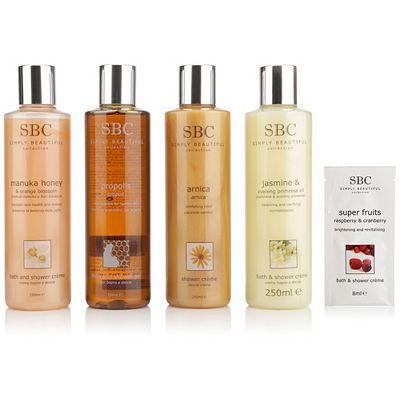 SBC Shower Collection Arnica, Propolis, Manuka Honey & Jasmin, je 250ml Preisvergleich