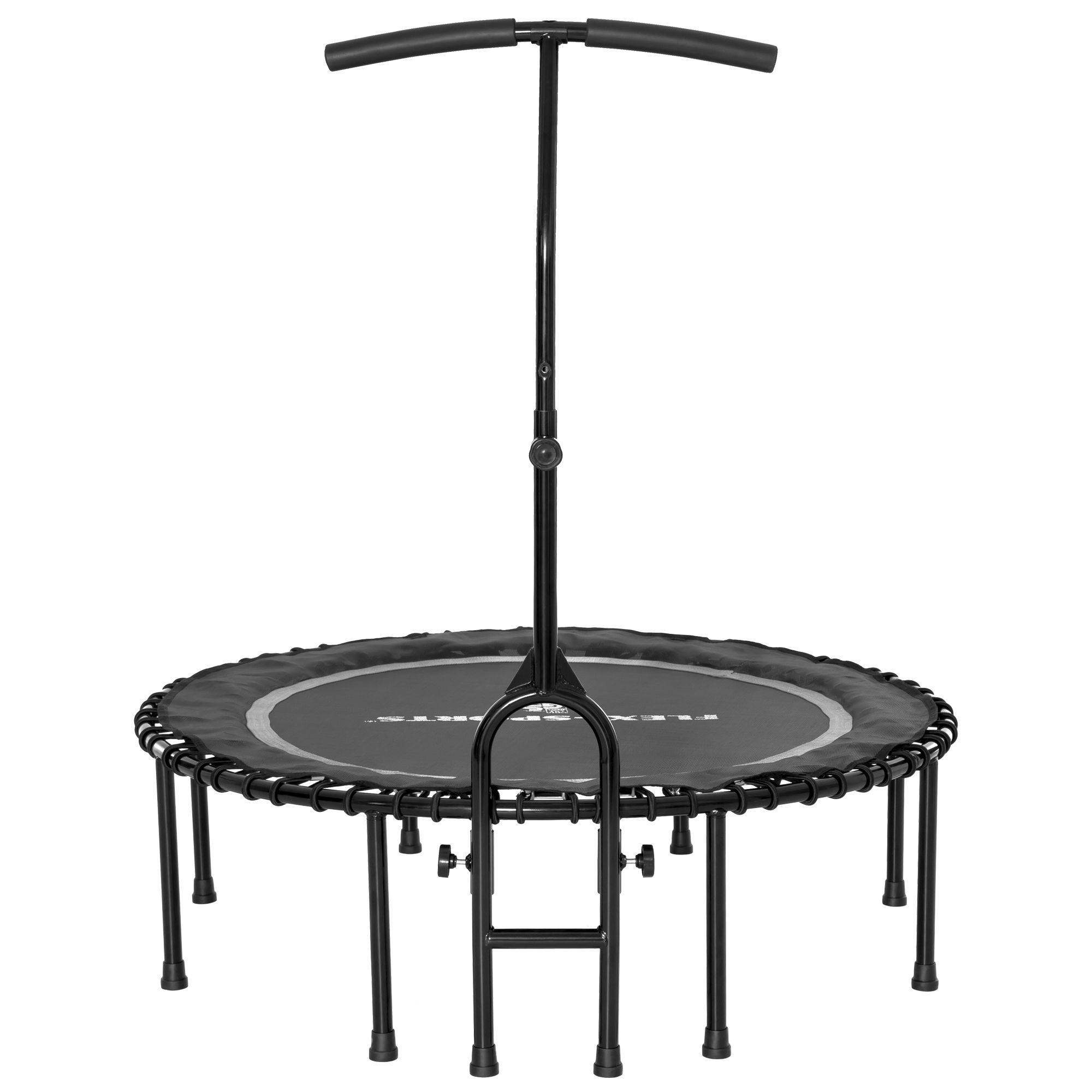Qvc Sportgeräte flexi-sports fitness-trampolin Ø 115cm inkl. haltestange & neuer