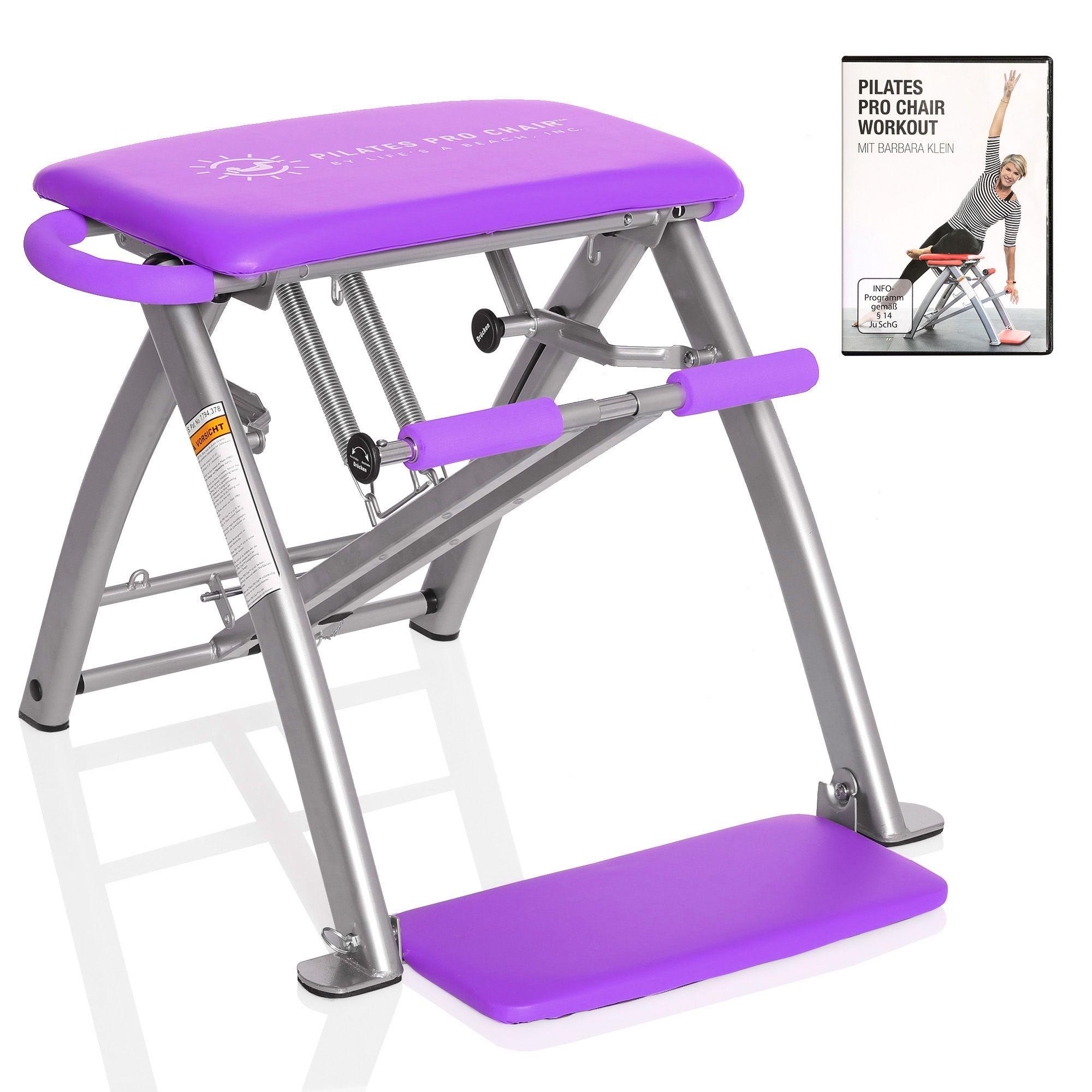 Qvc Sportgeräte pilates pro chair™ pilates stuhl mit einstellbarem widerstand