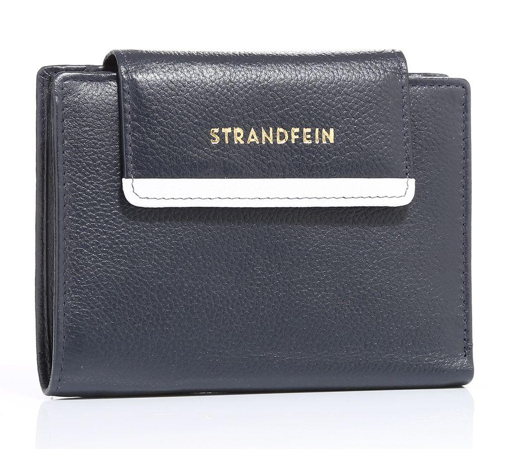 a0e4f41d6ffa9 STRANDFEIN Designermode Geldbörse echt Leder 14 Kartenfächer - Page 1 —  QVC.de