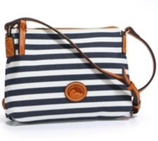 DOONEY BOURKE DOONEY & BOURKE Mini-Umhängetasche Materialmix Streifendruck