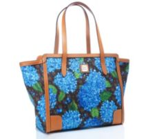 DOONEY BOURKE DOONEY & BOURKE Medium-Shopper Materialmix Blumen-Print