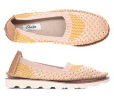 CLARKS  Damenespadrilles Damara Evie Textil G-Weite