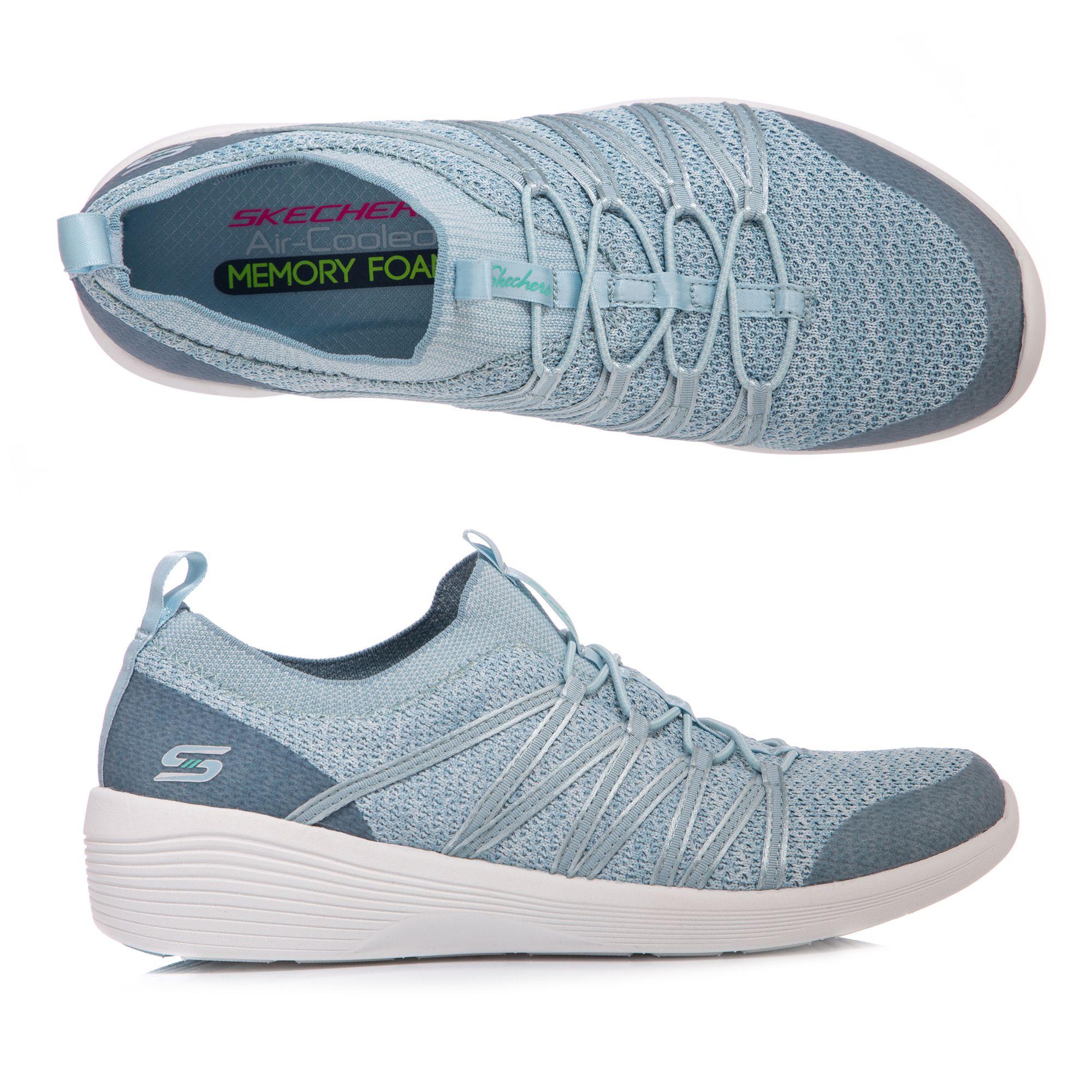 6967ffa353 SKECHERS Damen-Sneaker Arya Bungeeschnürung Memory Foam - Page 1 — QVC.de