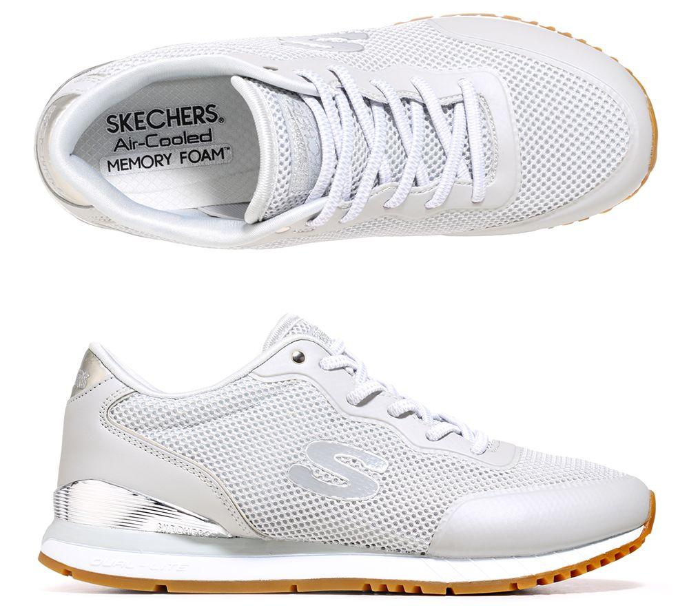 SKECHERS Damen-Sneaker SUNLITE Textil Memory Foam — QVC.de