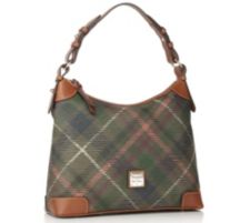 DOONEY BOURKE DOONEY & BOURKE Hobotasche Materialmix Karomuster