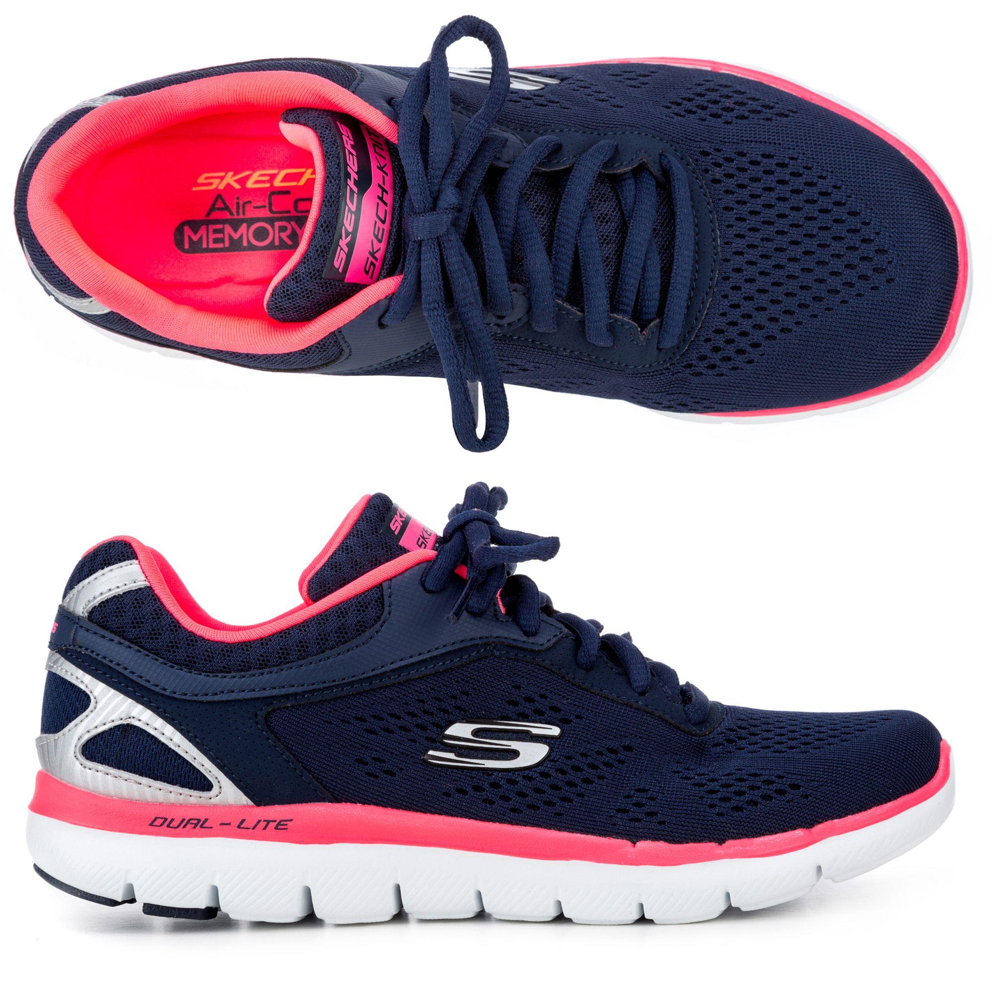 79378cf5b6 SKECHERS Damen-Sneaker Flex 2.0 Memory Foam exklusives Modell - Page 1 —  QVC.de