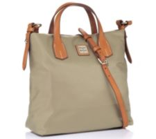 DOONEY BOURKE DOONEY & BOURKE Henkeltasche Materialmix Riemen verstellbar