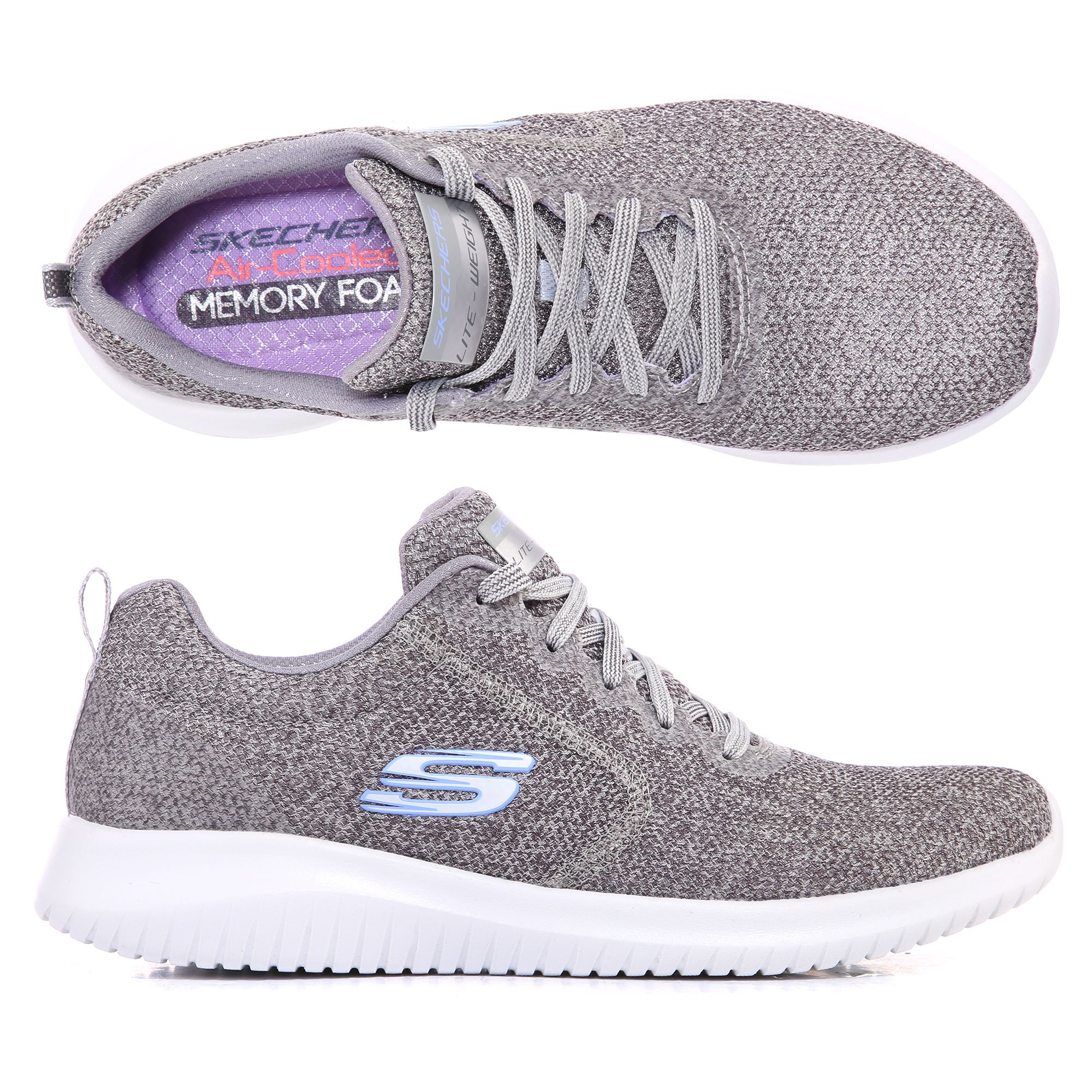 948d87485e SKECHERS Damen-Sneaker Ultra Flex Textil & Mesh Memory Foam - Page 1 —  QVC.de