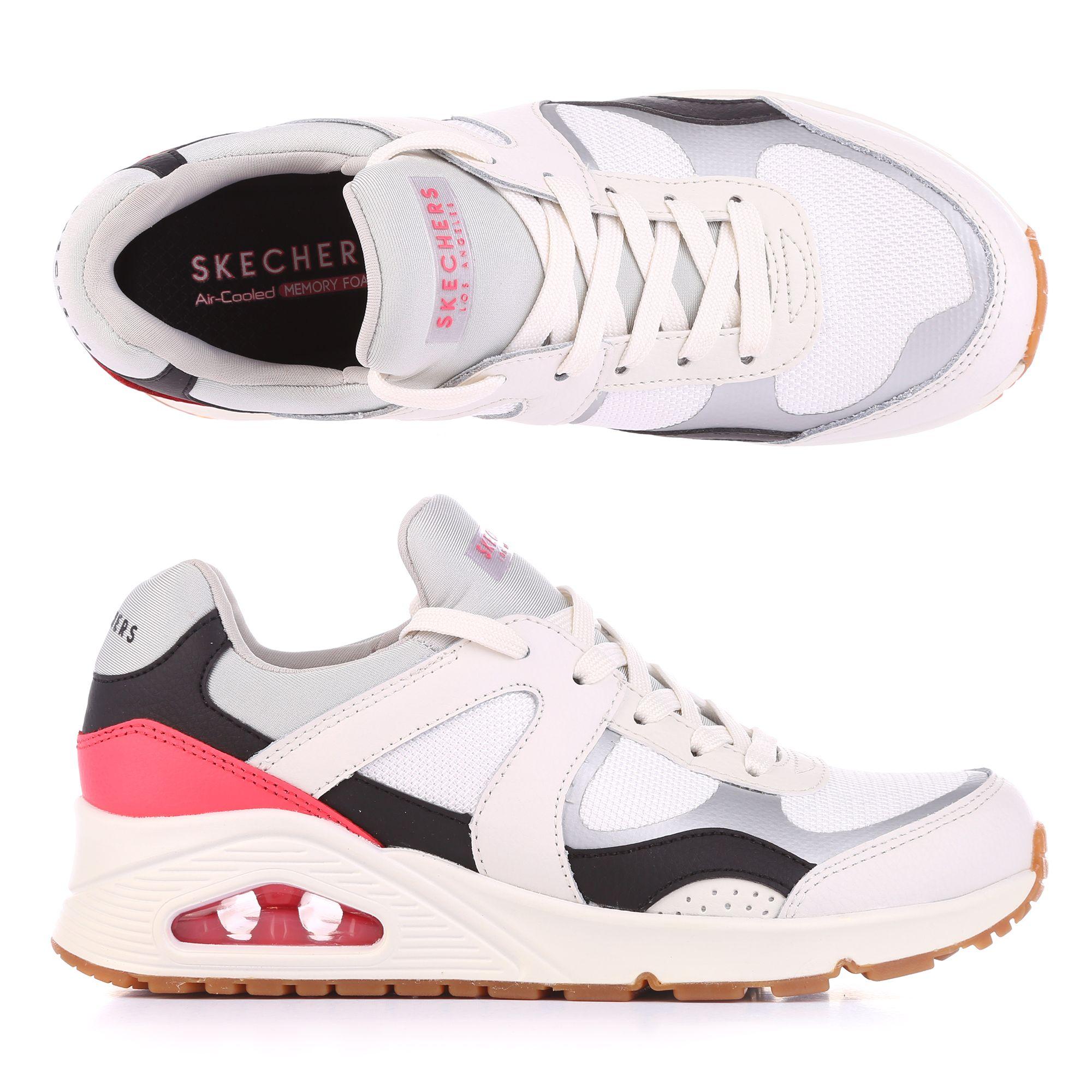 c054fb8d13 SKECHERS Damen-Sneaker Uno Materialmix Memory Foam — QVC.de