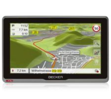BECKER  Navigationssystem 17,8cm Display 46 Länder Europas Charger, Netzteil Active.7 s