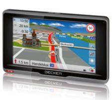 BECKER  Navigationssystem 20 Länder Europas gratis Updates Freisprechanlage ready.6l CE plus