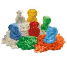 GOLIATH  Super Sand Safari 4 versch. Farben 3 Tierformen Löwe,Elefant,Gorilla