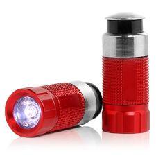 12V LED-Akkulampe für PKW Gewicht 46g 2 Stück