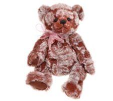CHARLIE BEARS®  Plüsch Bär Tadam mit Schleife H. ca. 23cm