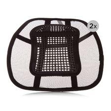 SIT RIGHT  Lendenwirbel- & Rückenstützen Massageeffekt 2 Stück