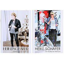 HEIKE SCHÄFER  Ergänzungs-Set Bücher-Set My World of Fashion 1&2