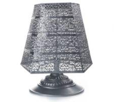 SOLITHIA  Serie Barock Solar-Standleuchte eckiger Lampenschirm H. ca. 120cm