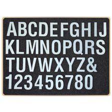 SPELLBINDERS®  Stanzschablone Alphabet & Zahlen ca. 28,5 x 21cm