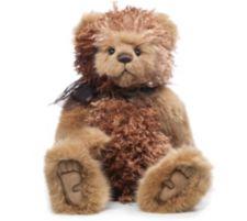 CHARLIE BEARS®  Plüsch Bär Bampa mit Schleife H. ca. 49cm