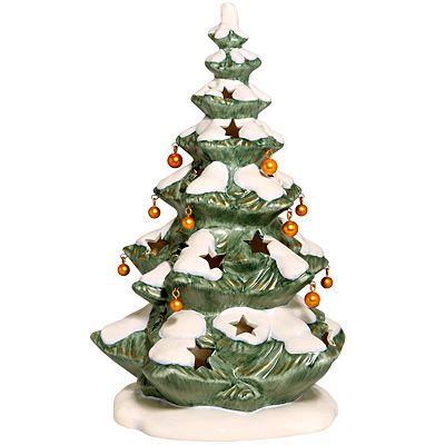 goebel weihnachten lichterbaum mit kugeln teelicht 25cm. Black Bedroom Furniture Sets. Home Design Ideas