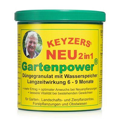 KEYZERS® 2in1-Gartenpower Langzeitdünger mit Wasserspeicher 800g Preisvergleich