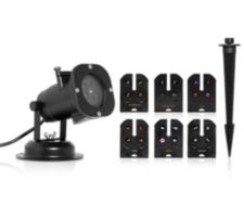 EFFECT LIGHT  LED-Projektor inkl. 6 Motive & Standfuß outdoorgeeignet
