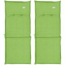 HARTMAN  Stuhlauflagen für Klappsessel teflonbeschichtet 2 Stück