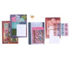 HUNKYDORY  Schmetterlinge, Ausstanzungen & Kartenpapiere 54tlg.