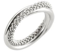 CALEA  Silberkollektion Ring gedreht Silber, 925