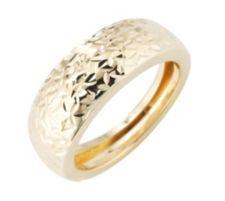GOLDRAUSCH  Bandring diamantiert mind. 1,60g Gold 585