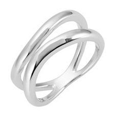 BIANCA Ring poliert Silber 925