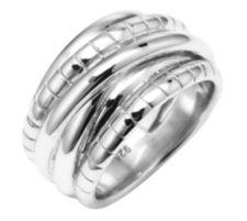 CALEA  Silberkollektion Ring poliert Silber, 925