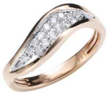ARGYLE  Ring 14 Brillanten zus. ca. 0,20ct Roségold 585