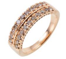 ARGYLE  Ring 22 Brillanten zus. ca. 0,50ct Roségold 585
