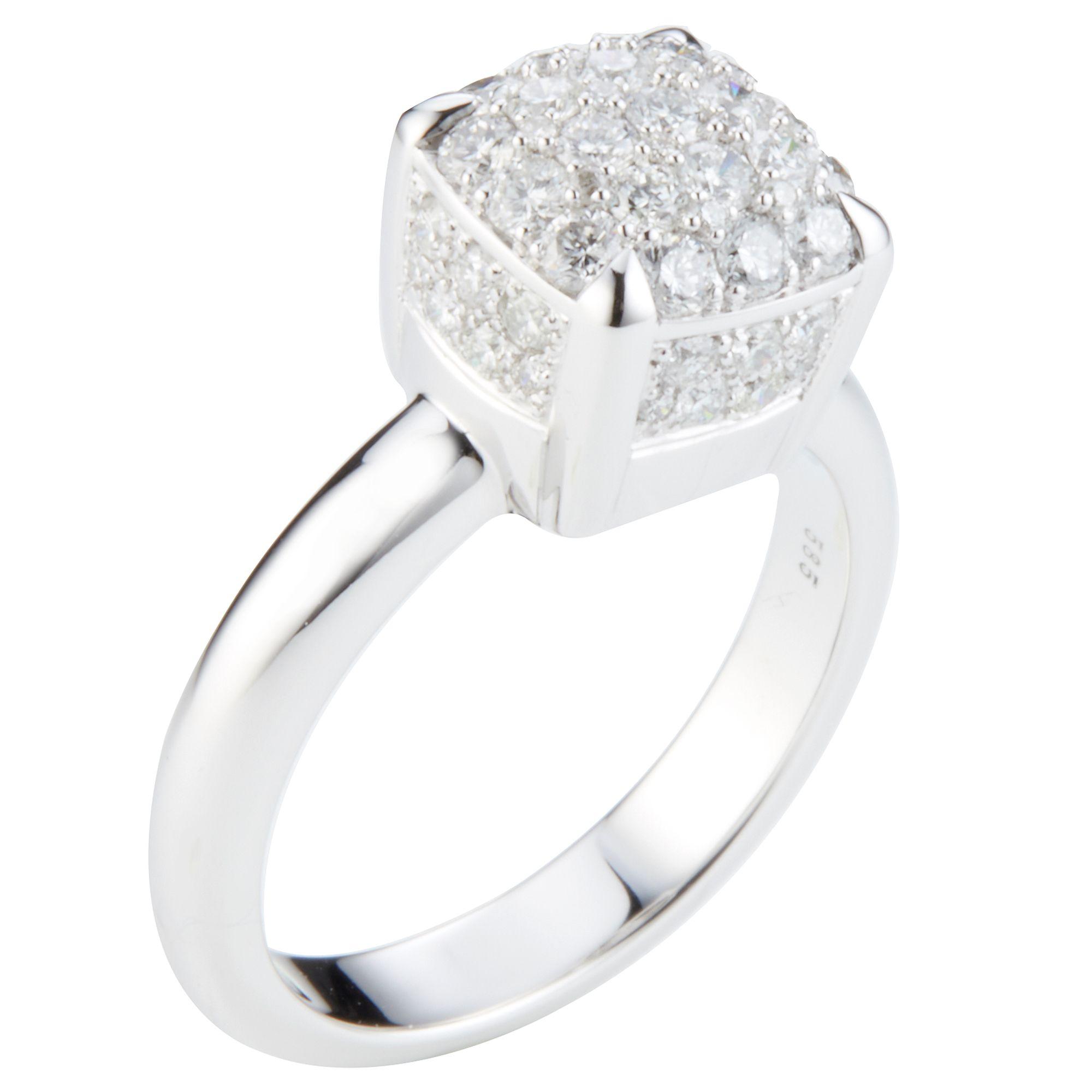 Gold ZusCa1 Weißp1 00ct 61 585 — Ring Brillanten gyY7bf6