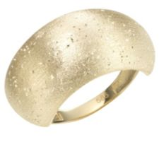 GOLDRAUSCH  Ring diamantiert verbödet Gold 585