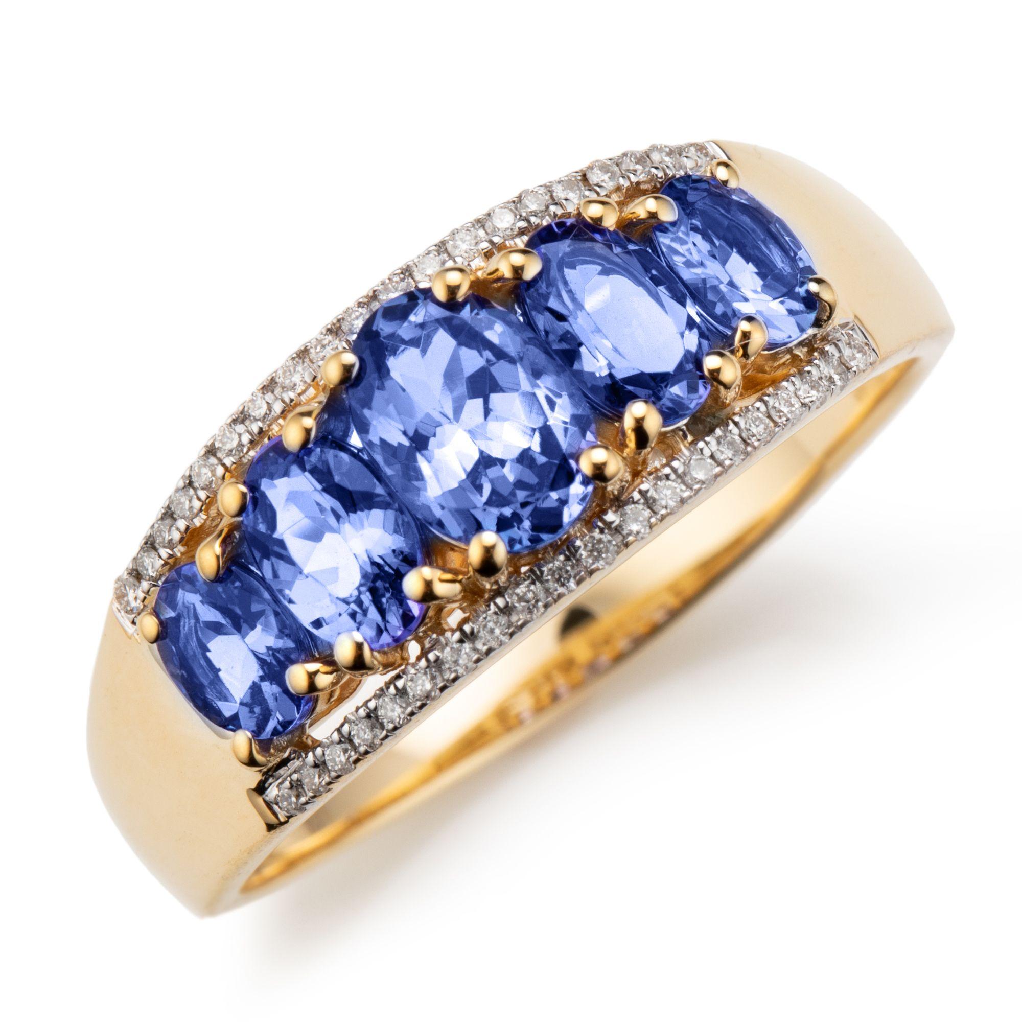 Traumhafter Blauer Diamant Rundschliff Edelstein Blue Diamond Gemstone