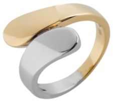GOLDRAUSCH  Croisé-Ring Bicolor-Optik min. 5,30g Gold 585