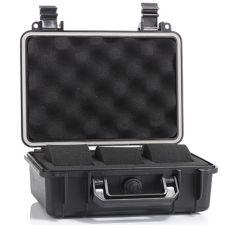 CONSTANTIN WEISZ  Sammelkoffer für 3 Uhren schwarz ca.23,5x18x9,5cm