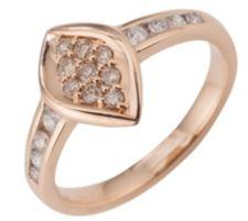 ARGYLE  Ring 17 Brillanten zus. ca. 0,33ct Roségold 585