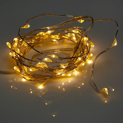 Qvc Weihnachtsbeleuchtung Kabellos.Lumida Xmas 2 Deko Lichterketten Je 50 Leds Timerfunktion Inkl Fernbedienung Qvc De