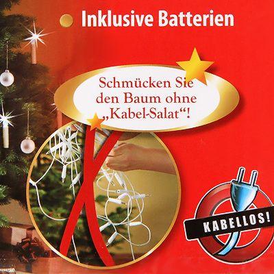 Qvc Weihnachtsbeleuchtung Kabellos.Kerzenzauber Christbaumkerzen Kabellos Led Beleuchtung U Fernbedienung Qvc De
