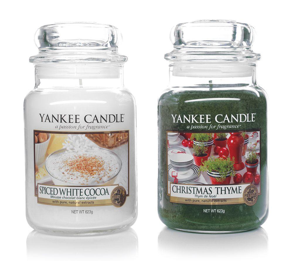 YANKEE CANDLE Duftkerzen-Set Spiced Christmas Brenndauer 110-150h je ...
