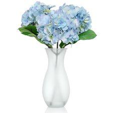 ABELLA  Flora kunstvolle Blumen Hortensien- Arrangement Vase, H. ca. 35cm