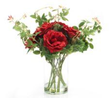 ABELLA  Flora wir lieben Rosen Rosen Bouquet natürliche Haptik H. ca. 35cm