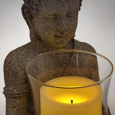 Besorgt Sehr Schöner Kerzenhalter Für Stabkerzen Oder Kugelkerzen 25 Cm Hoch Bronze