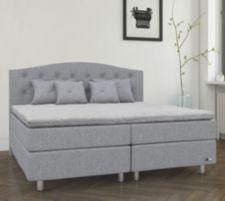 BODYFLEX BOXSPRING  Bett Gala Serie Deluxe 1.000-Federn-Matratze Latex-Topper